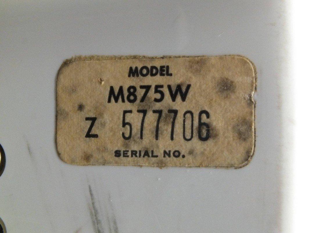 Zenith Sleep Switch All Transistor Radio Model M875W - 9