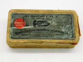 Antique Remington Arms-union Metallic Cartridge Co. .41