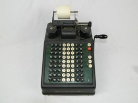 1920's Burroughs Portable Adding Machine