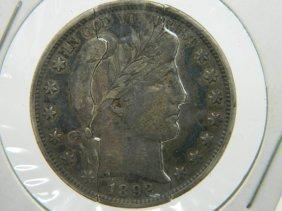 1892 Barber Half Dollar Puzzle Coin