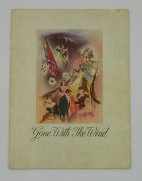 1939 Gone With The Wind Movie Program