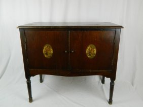 Late 19th Century Nautical Themed Bar Cabinet From