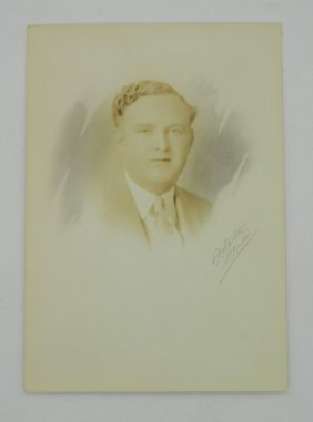 Reprint Of J. Howard Quinn Election Photograph By