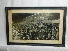 At The Races Vintage Photograph
