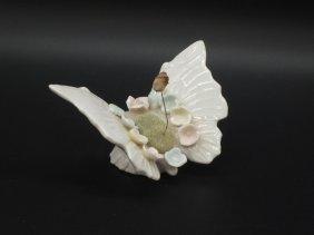 Lenwile China Ardalt Butterfly Pin Cushion