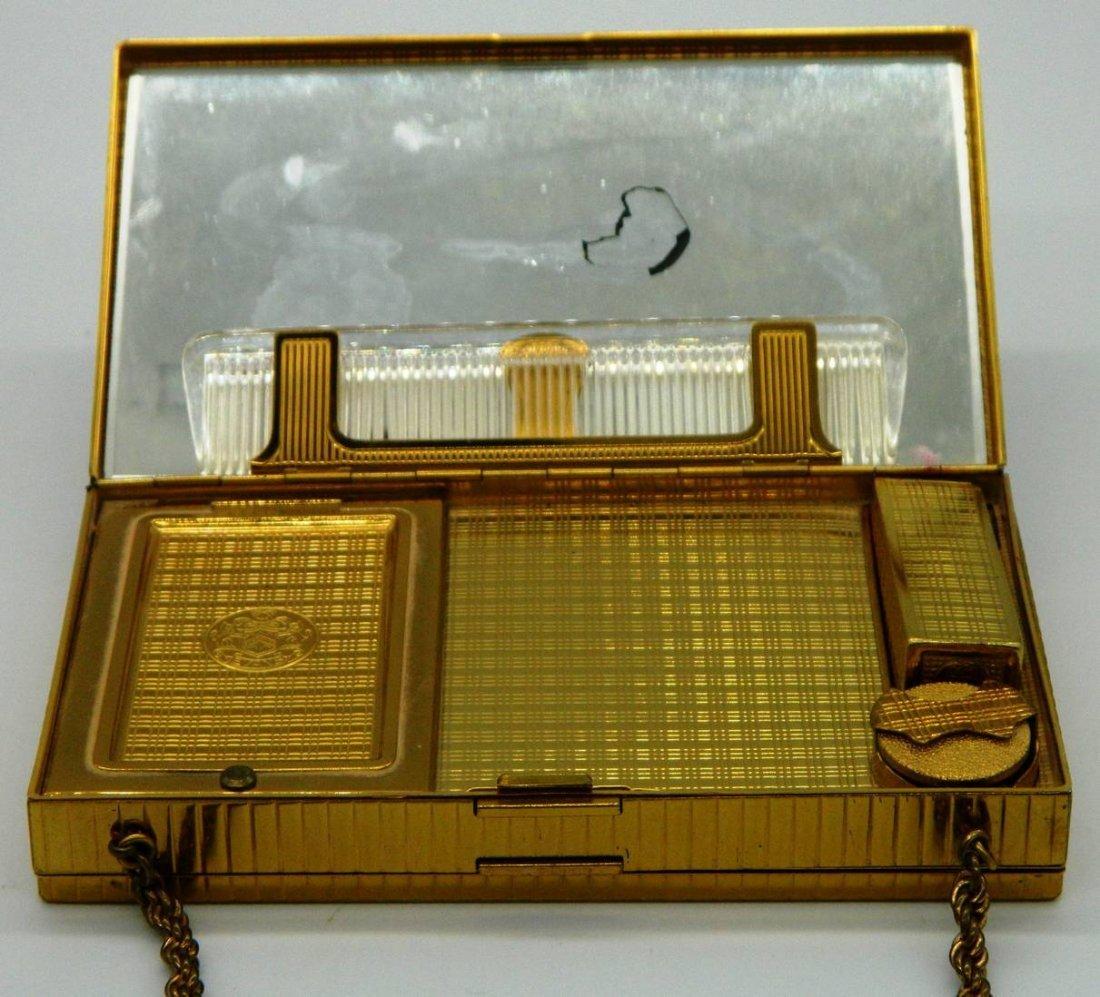 Evans Elegance Vintage Compact, Clutch, Cigarette Case - 4