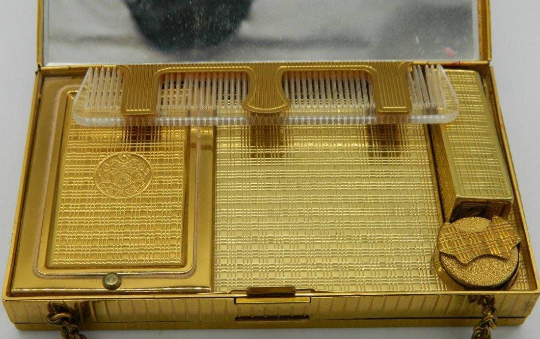Evans Elegance Vintage Compact, Clutch, Cigarette Case - 5