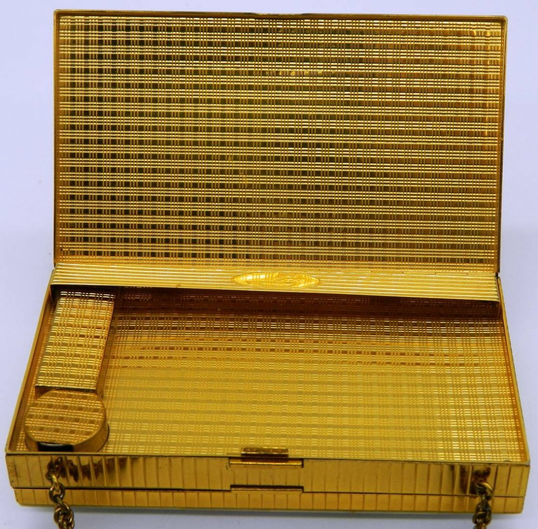 Evans Elegance Vintage Compact, Clutch, Cigarette Case - 6
