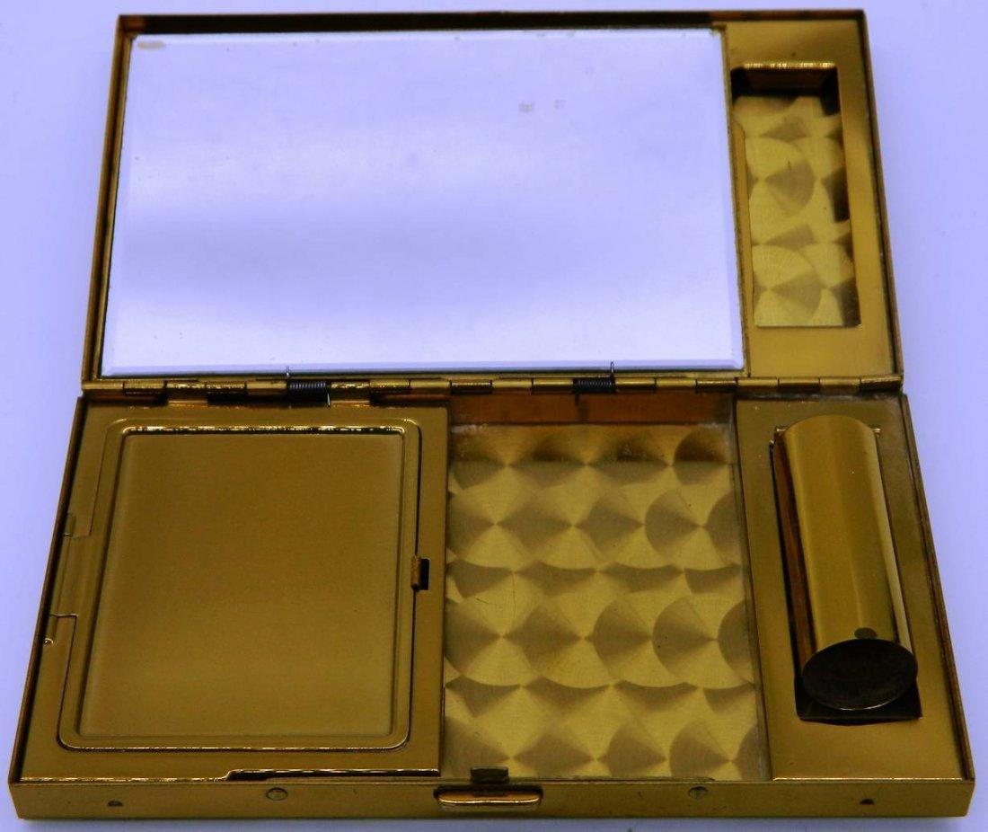 Evans Elegance Vintage Compact, Clutch, Cigarette Case - 9