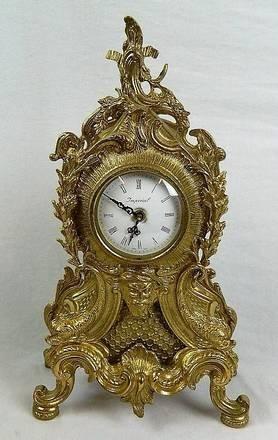 Imperial Garniture Set Mantel Clock and Candelabras - 3