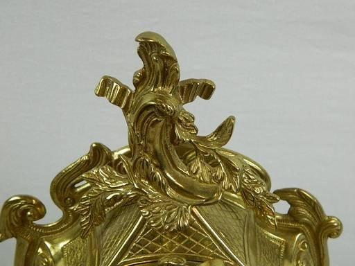 Imperial Garniture Set Mantel Clock and Candelabras - 5
