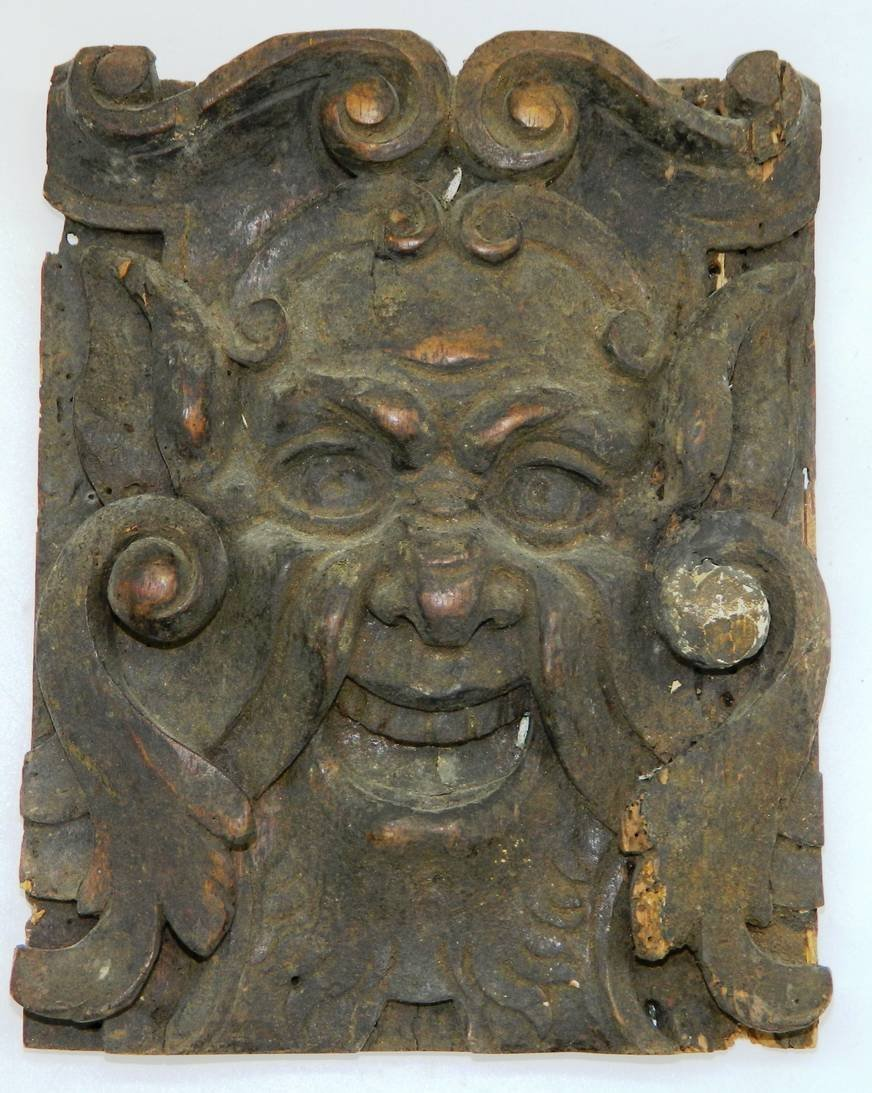 Architectural Salvage, Wormwood Carving,The Green Man - 10