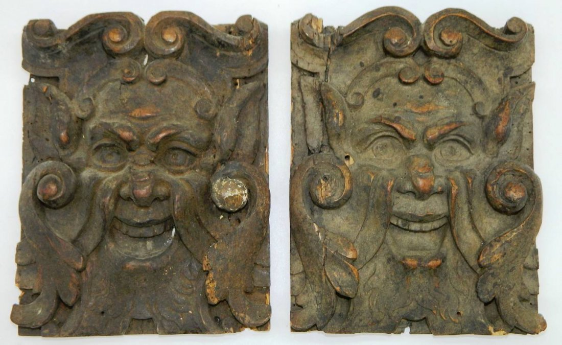 Architectural Salvage, Wormwood Carving,The Green Man