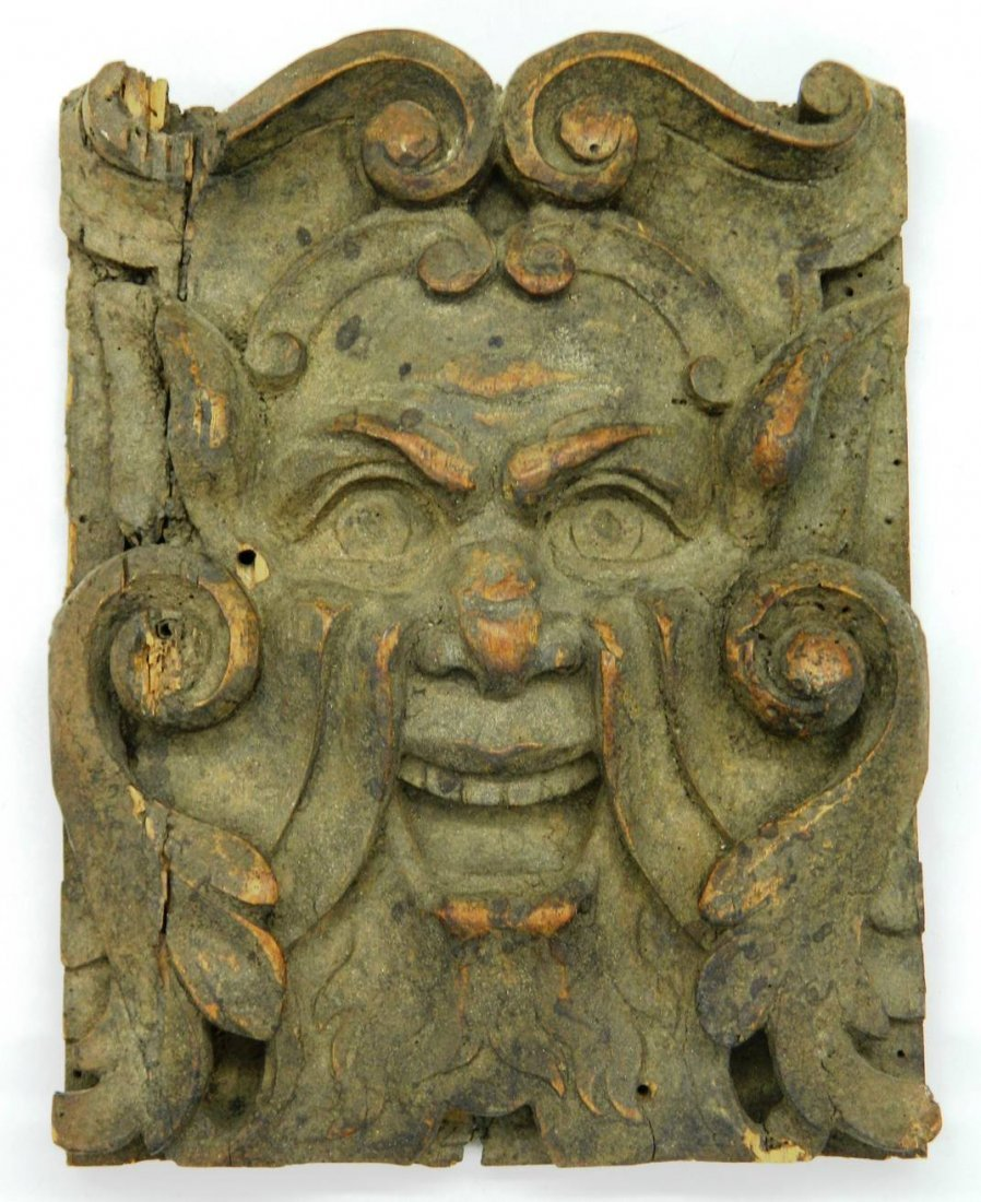 Architectural Salvage, Wormwood Carving,The Green Man - 2