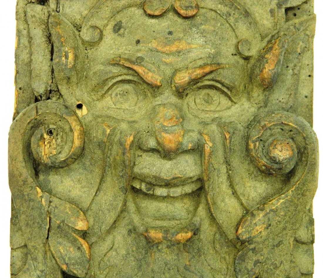 Architectural Salvage, Wormwood Carving,The Green Man - 3