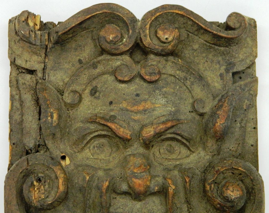 Architectural Salvage, Wormwood Carving,The Green Man - 4