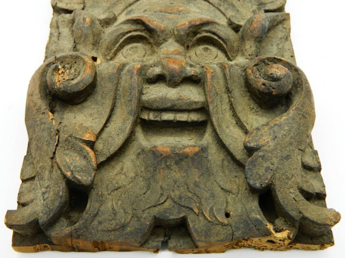 Architectural Salvage, Wormwood Carving,The Green Man - 5