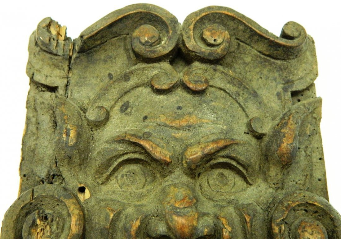 Architectural Salvage, Wormwood Carving,The Green Man - 6