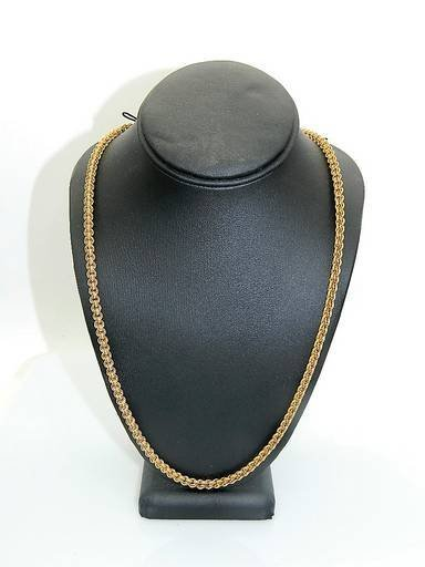 Stunning 14k Gold Belcher Rolo Chain Victorian Necklace