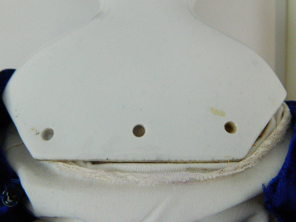 """Large Vintage Porcelain, """"Flat Top"""" China Doll - 7"""