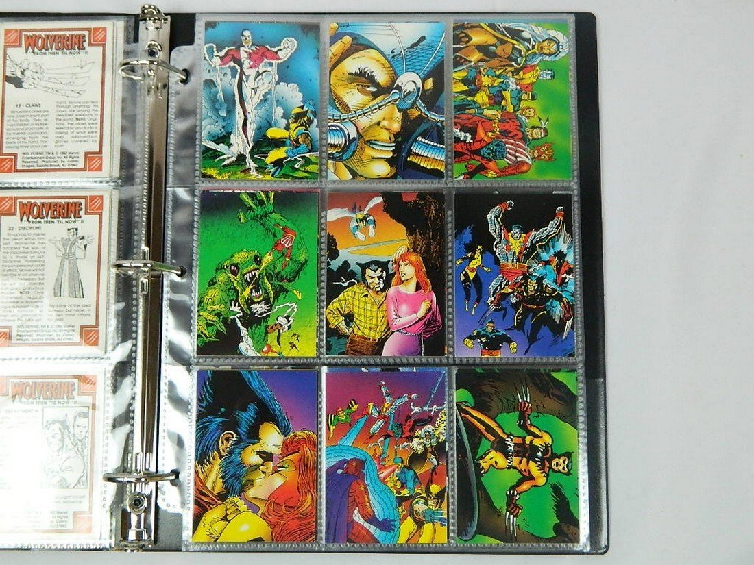 1992 Wolverine From Then Til Now Complete Set - 4