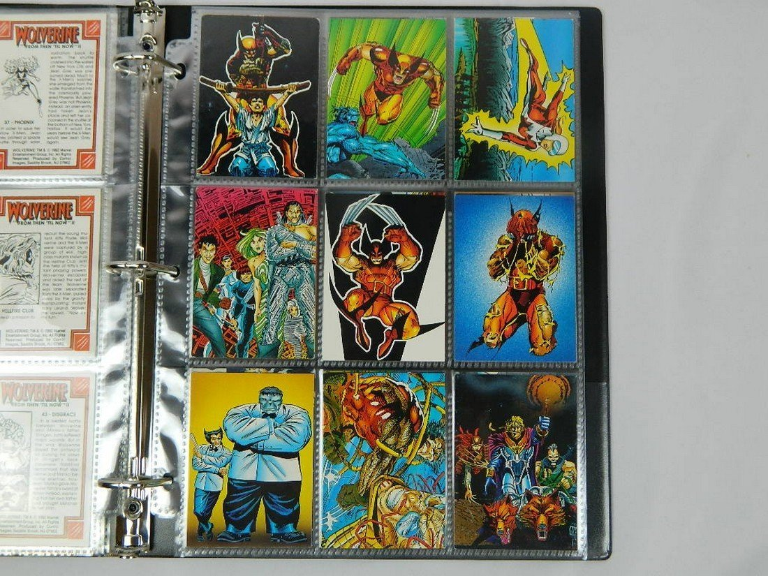 1992 Wolverine From Then Til Now Complete Set - 6