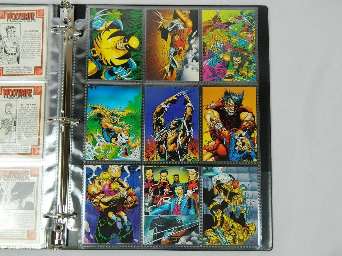 1992 Wolverine From Then Til Now Complete Set - 8