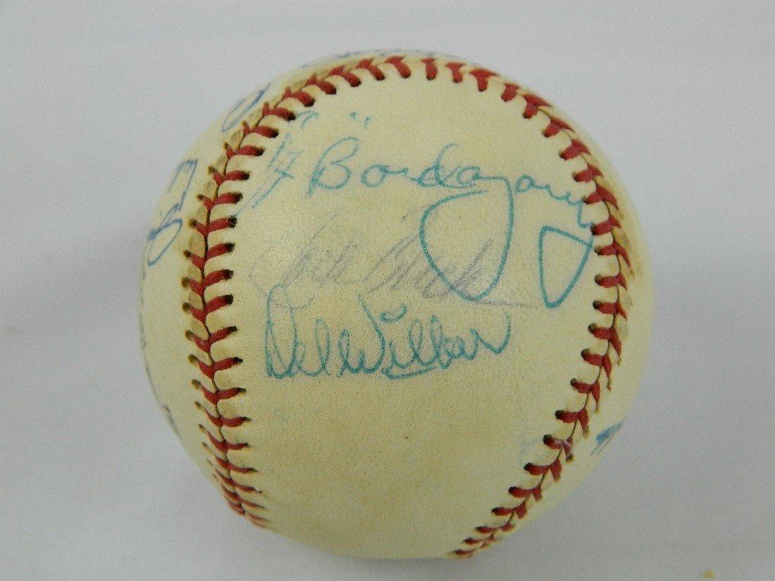 Autographed Baseball 13 Signatures Jack Buck