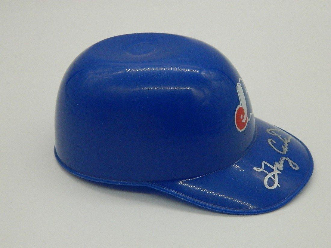 Gary Carter Signed Mini Helmet HOF 2003 - 3