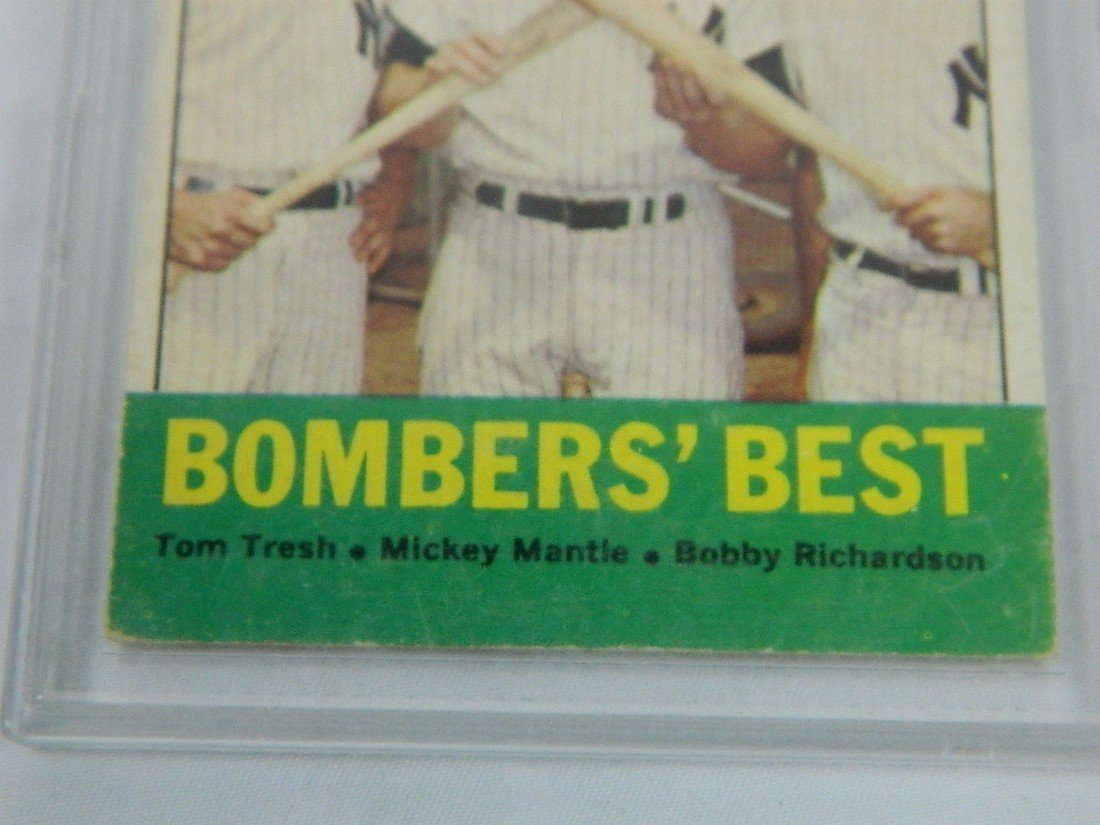 63 Topps Bombers Best Tresh Mantle Richardson - 3