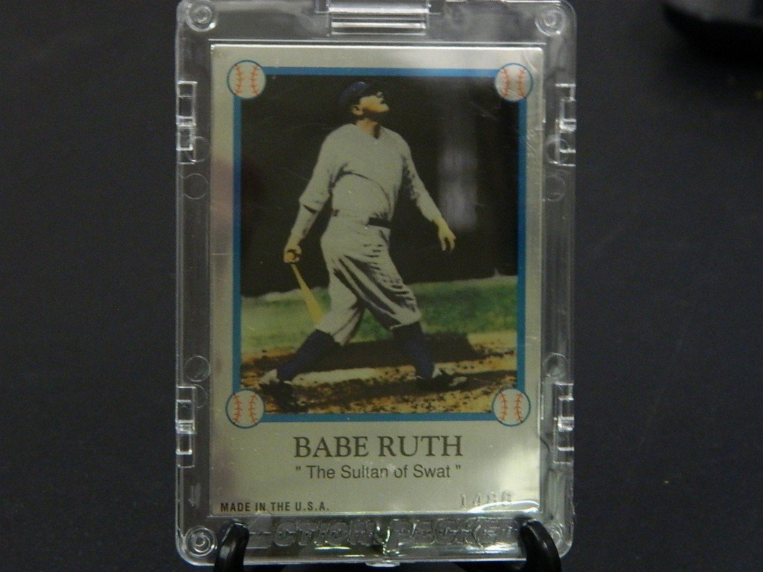 1994 Family of Babe Ruth Card