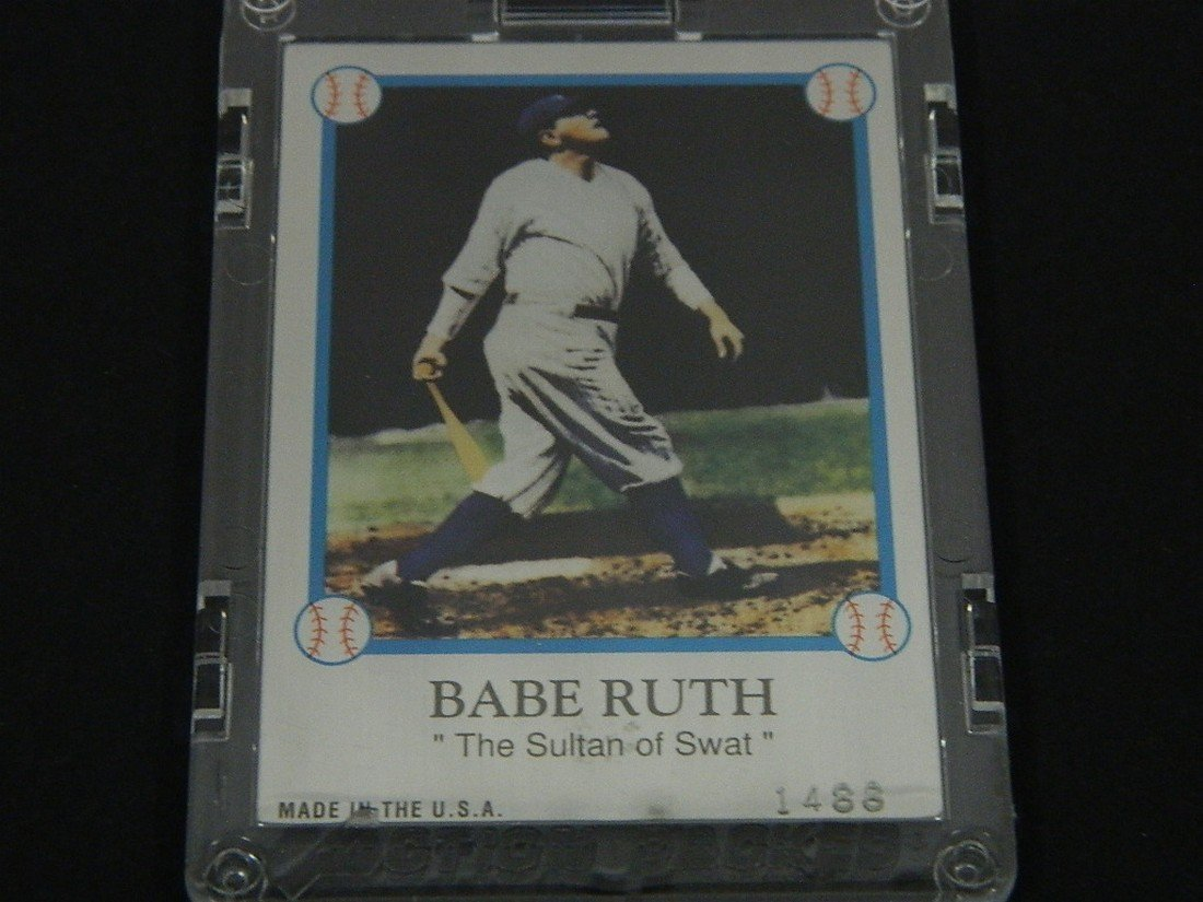 1994 Family of Babe Ruth Card - 4