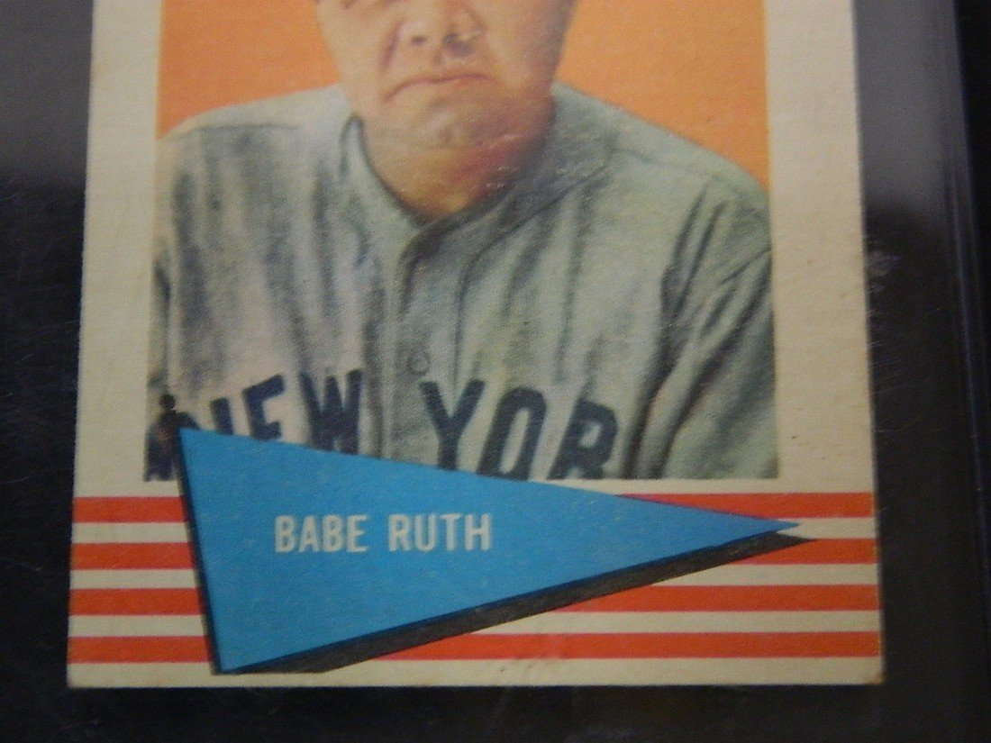 1961 Fleer Babe Ruth New York Yankees #75 - 3