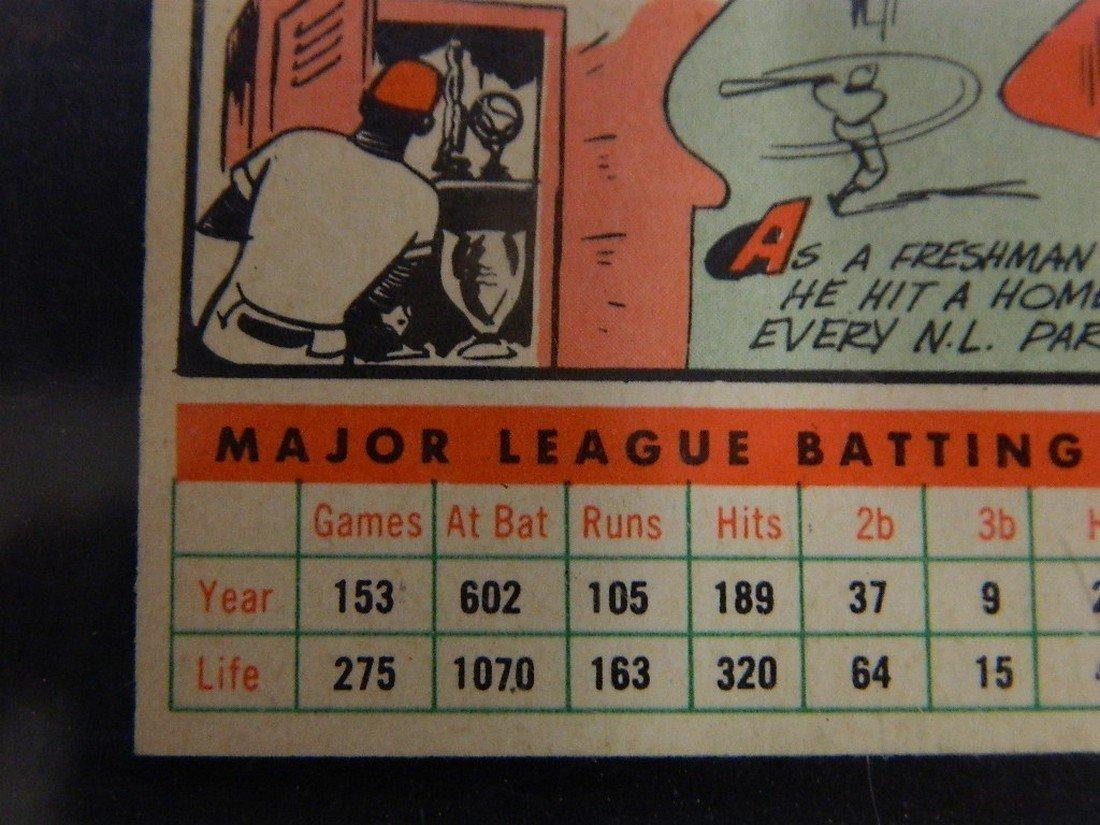 1956 Topps Hank Aaron #31 Baseball Card - 10