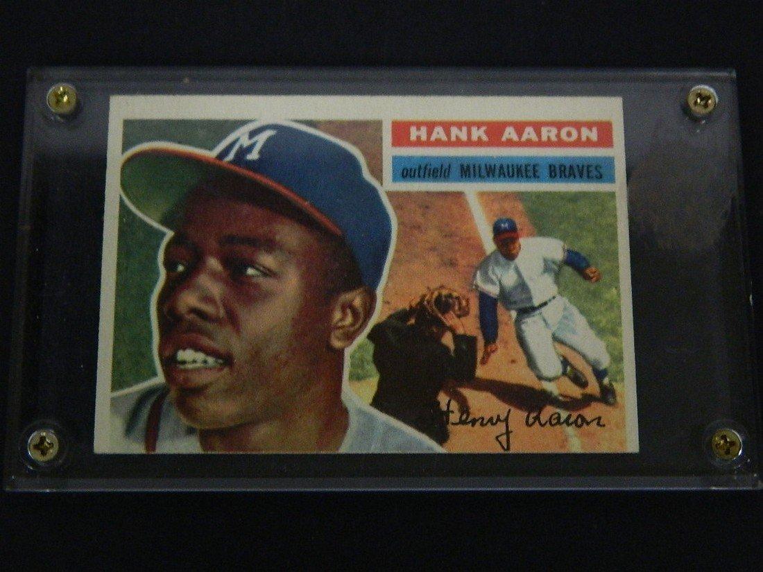 1956 Topps Hank Aaron #31 Baseball Card