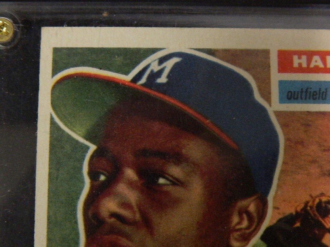 1956 Topps Hank Aaron #31 Baseball Card - 3