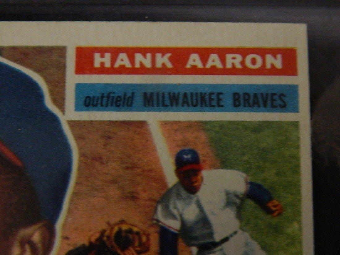 1956 Topps Hank Aaron #31 Baseball Card - 4