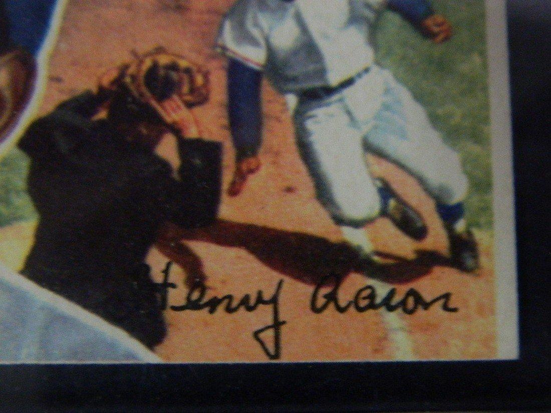1956 Topps Hank Aaron #31 Baseball Card - 6