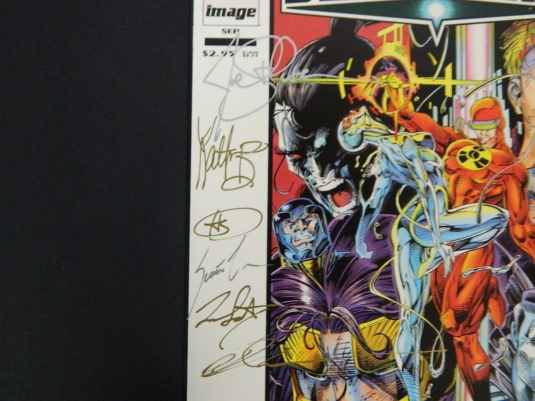 Lot of Rare Autographed Deathmate Comics - 4