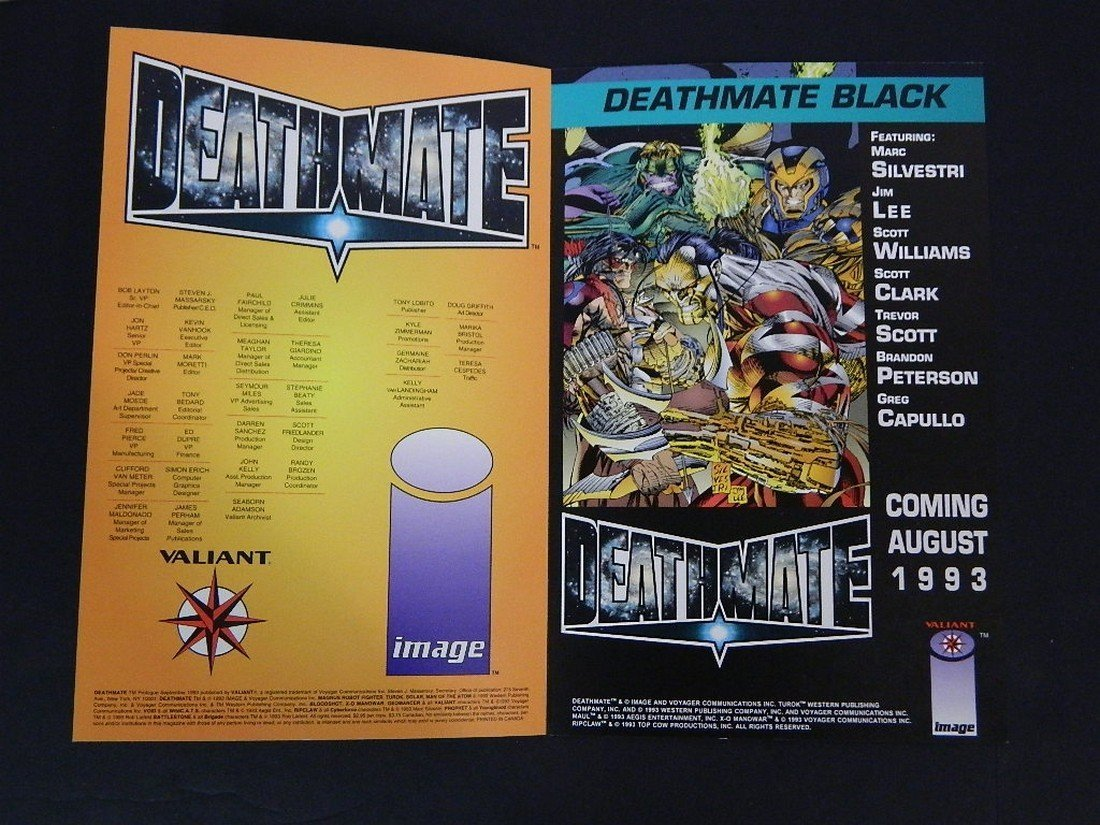 Lot of Rare Autographed Deathmate Comics - 8