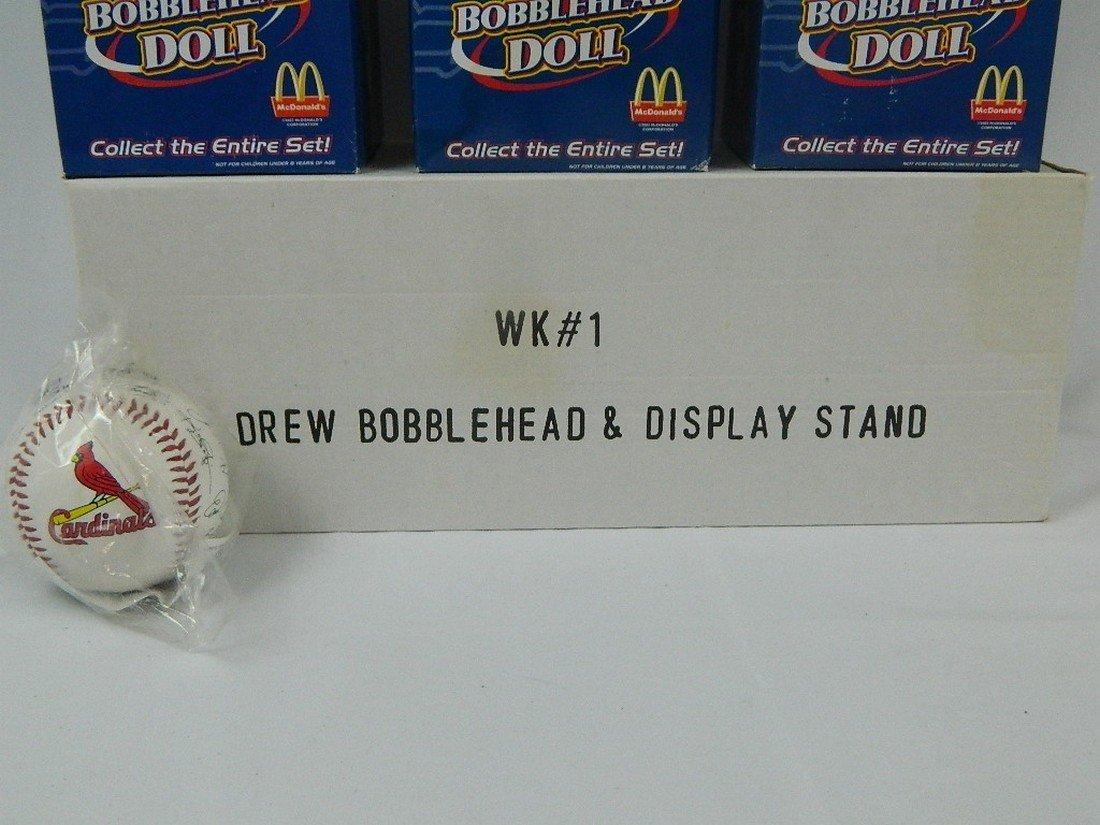St Louis Cardinals Mcdonalds Bobblehead Set - 4