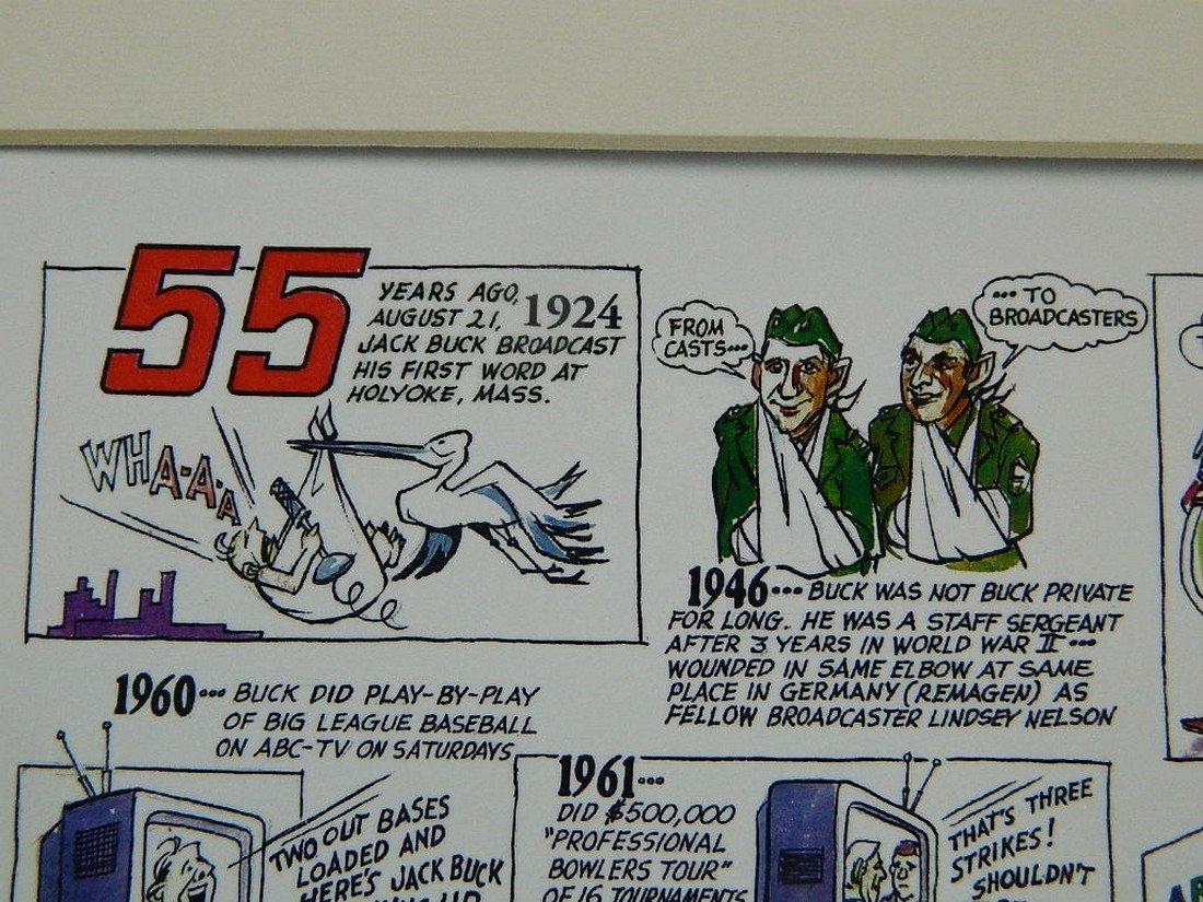 2002 Jack Buck Golf Classic Comic Strip - 3