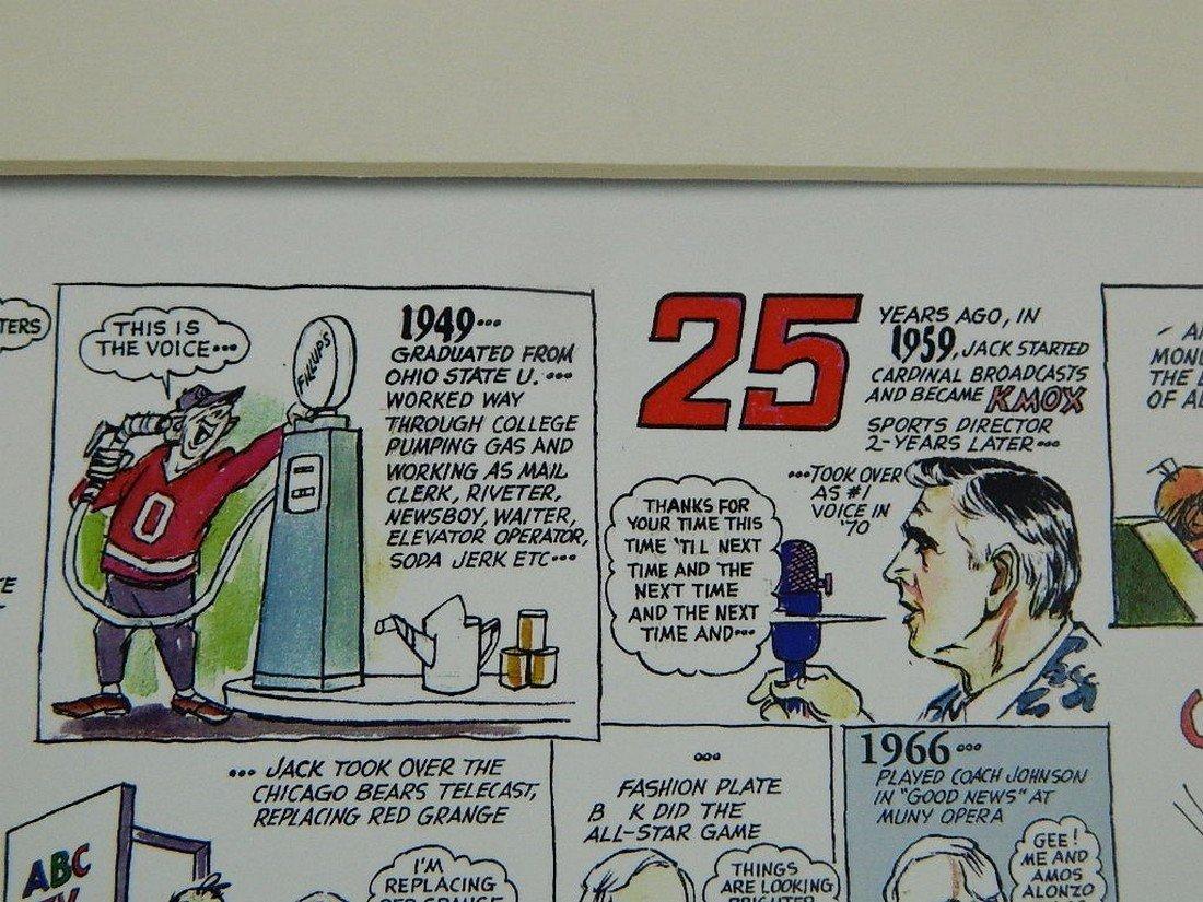 2002 Jack Buck Golf Classic Comic Strip - 4