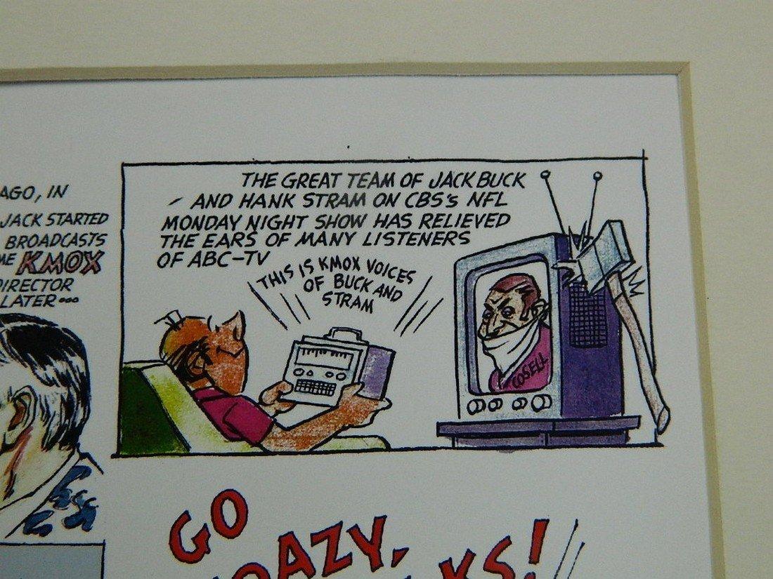 2002 Jack Buck Golf Classic Comic Strip - 5