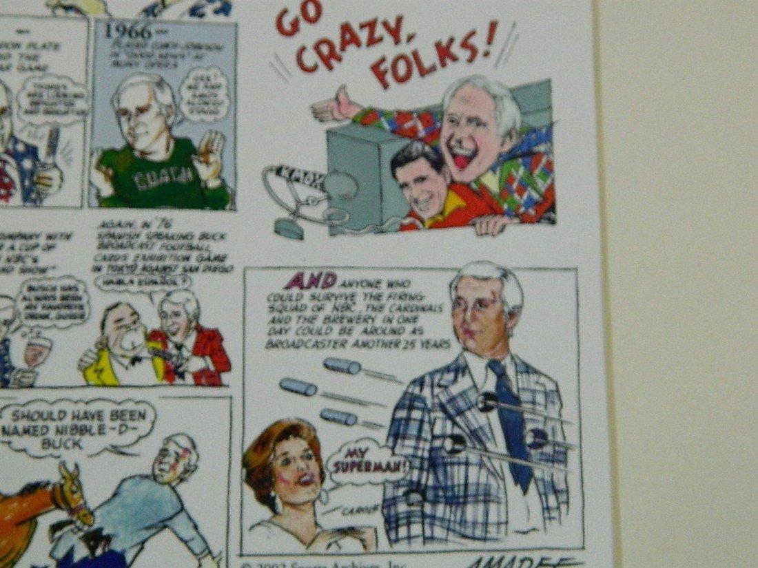 2002 Jack Buck Golf Classic Comic Strip - 8