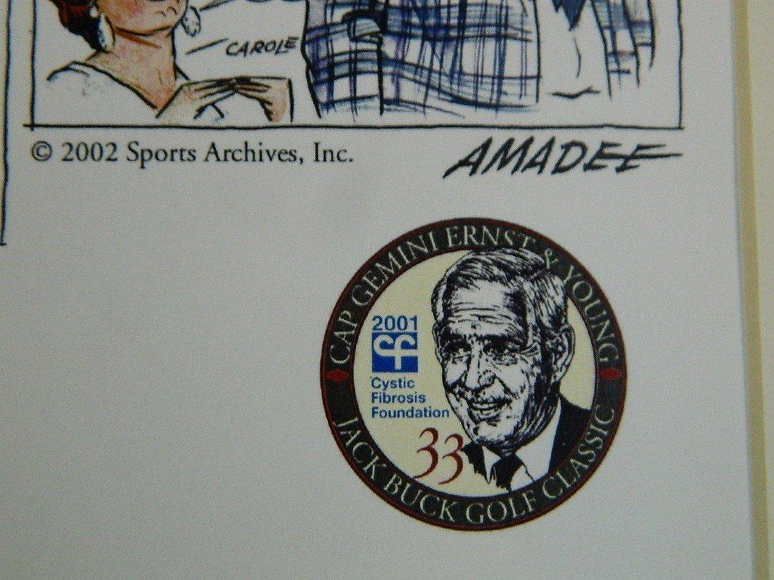 2002 Jack Buck Golf Classic Comic Strip - 9