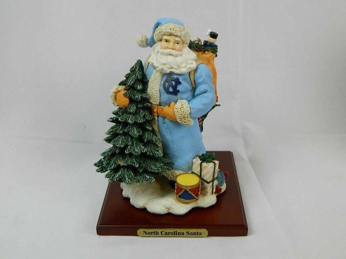 University of North Carolina Christmas Santa - 2
