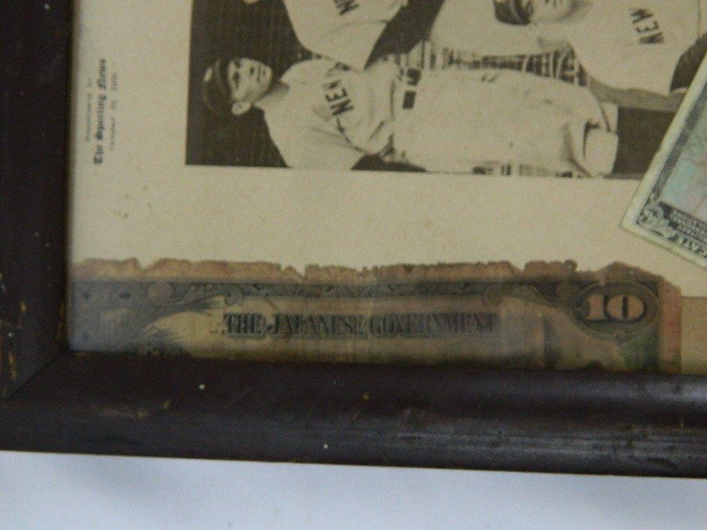 1939 Yankees Sporting News Military Folk Art - 4
