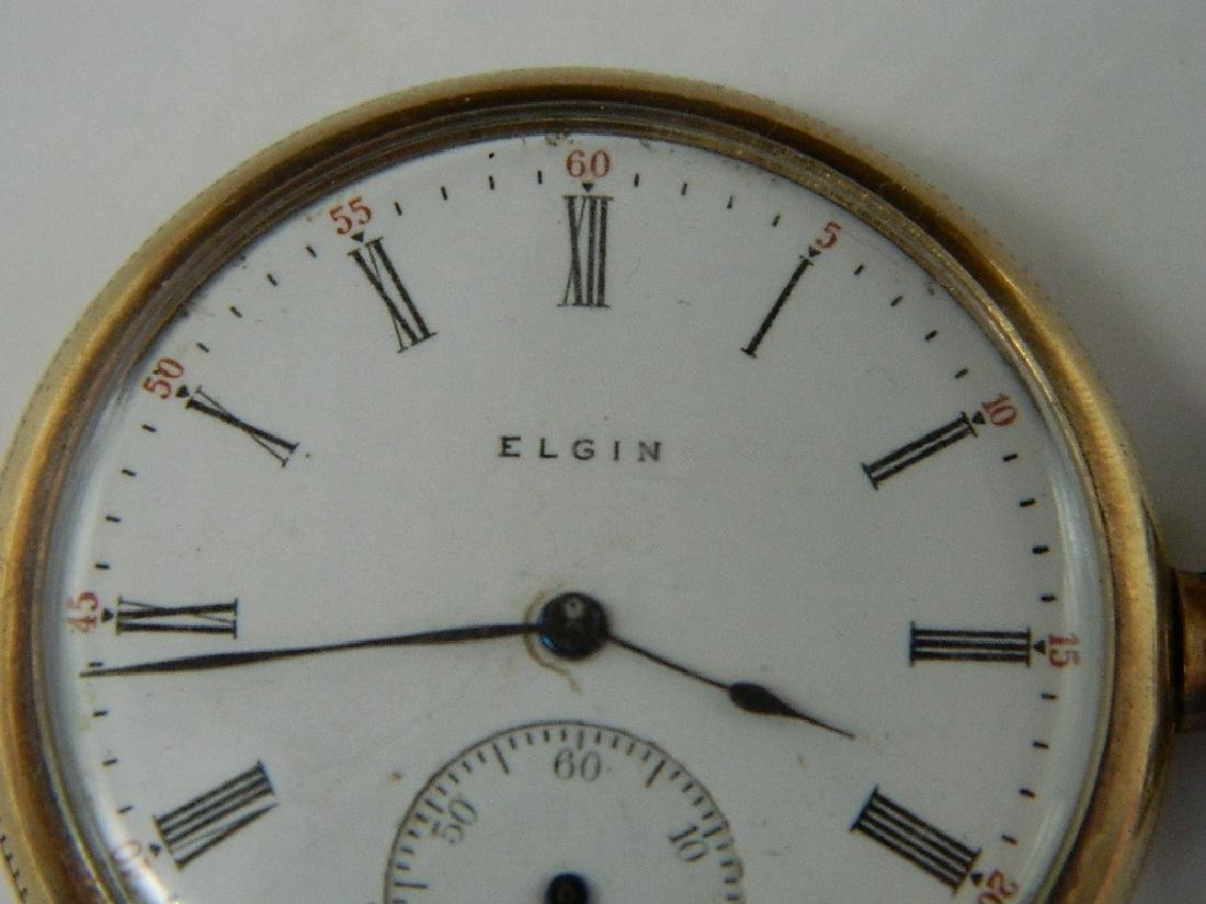 Elgin National Watch Co Pocket Watch With B&B Case c.