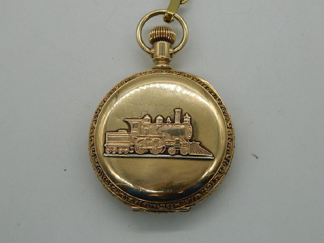 Circa 1889 Waltham Royal  Railroad Pocket Watch